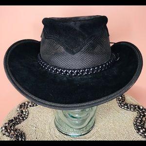 Monterey Bay Crushable Leather Breezer Western Hat